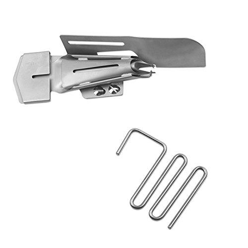 BABY LOCK Doppelfaltschrägbinder mit Führungsrechen (48 mm/15 mm)