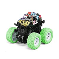 新ミニ慣性オフロード Suv 車 Juguetes カルロ四輪ドライブプラスチック子供のおもちゃの車摩擦スタントカー用