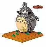 KKOO Diamond Nano Bricks, Totoro Micro Building Block Animal Model Set Juego de Bricolaje ensamblado Juguete para niños Regalos (1650 PCS)
