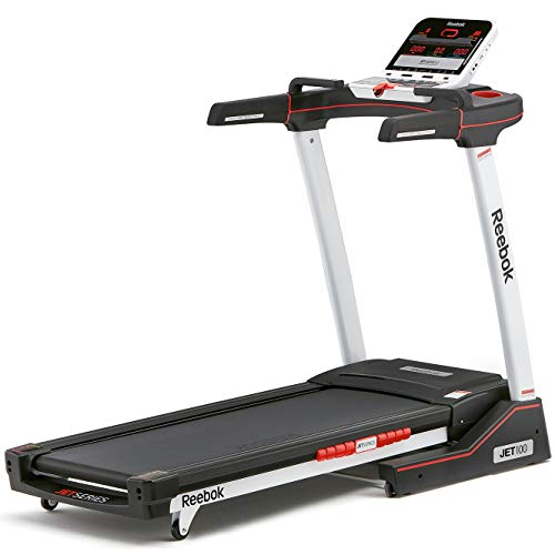 Reebok Jet 100 Series Bluetooth Treadmill - White