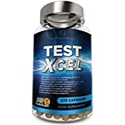 #1 Test Xcel - 3 Months Supply   Informed Sport Registered   17 Potent Active Ingredients with Added Maca, D Aspartic Acid, Nettle, Fennel, Asian Red Panax Ginseng and More