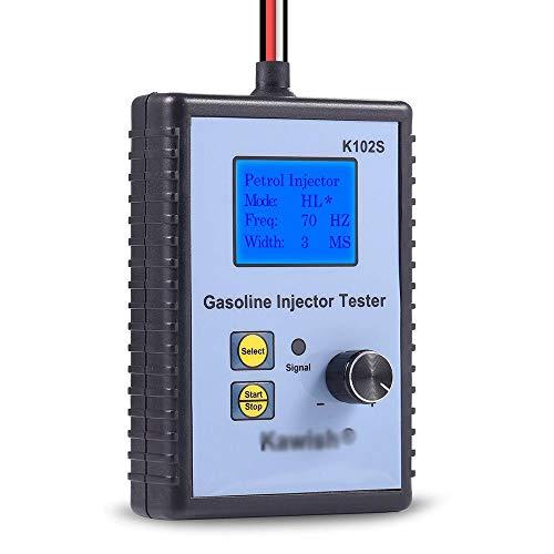 DFYYQ Inyector probador del inyector de Combustible Probador Profesional Potente Gasolina Herramienta de análisis del Sistema de Combustible del inyector Tester automoción