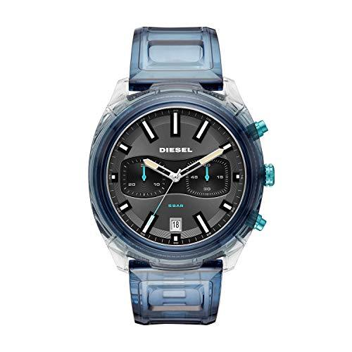 Diesel Reloj Cronógrafo para Hombre de Cuarzo con Correa en PU DZ4494