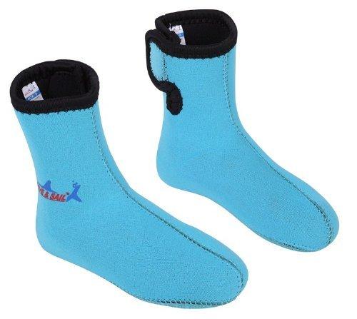 Dive & Sail 3mm Neopreno Antideslizante Calcetines de los niños Calcetines Buceo Snorkeling Kid