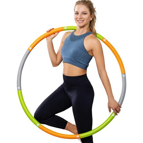 Dynamis Fat Burning Weighted Hula Hoop