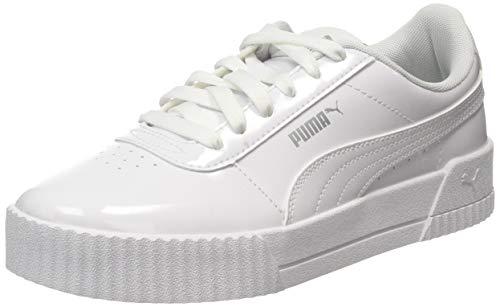 Puma Damen Carina P Sneaker, Weiß White White, 40 EU