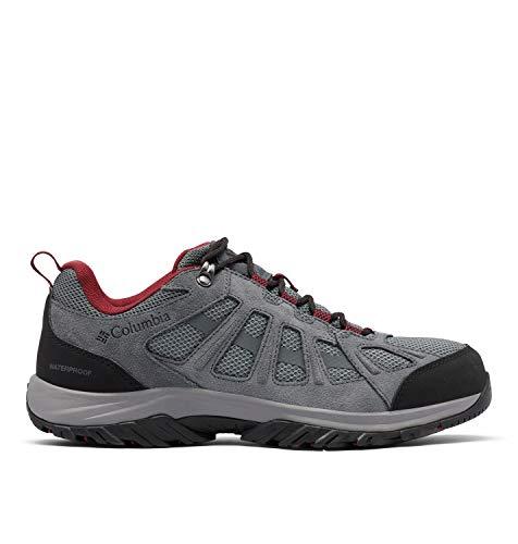 Columbia Redmond III Waterproof, Zapatillas para Caminar Hombre, Ti Gris Acero Negro, 47 EU