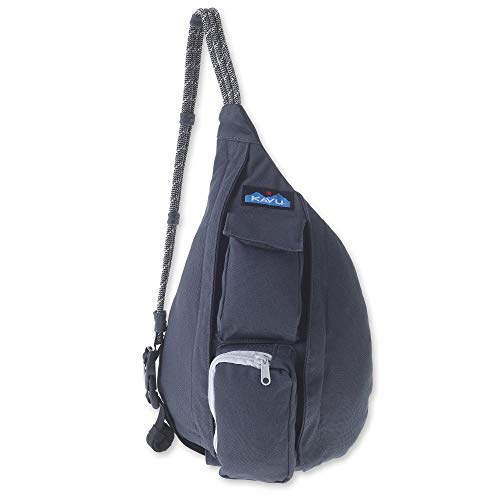 KAVU Mini Rope Bag Cotton Crossbody Sling  - Pavement