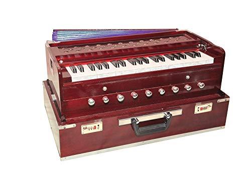 Musicals Holz tragbare Falten 3.5 Octave 9 Stopper Harmonium mit Koppler Geben Sie bitte/Indian Harmonium/Professional Harmonium/Portable Harmonium