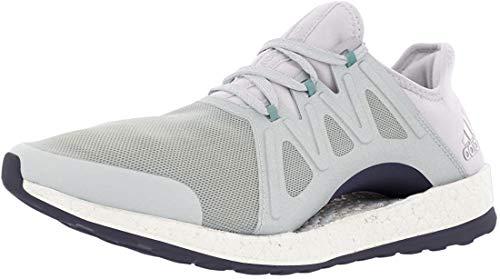 adidas Women's Pureboost Xpose, Linen Green/White, 6 B