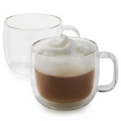 Zwilling J.A. Henckels Sorrento Plus Double-Wall Coffee Glasses, 12 oz. | Sur La Table