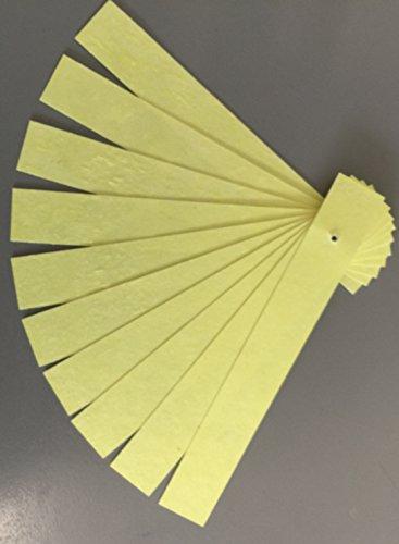 Schwefelschnitten 10 Stück Einzellstreifen nicht Tropfend zur Desinfiezierung und Schädlingsbekämpfung