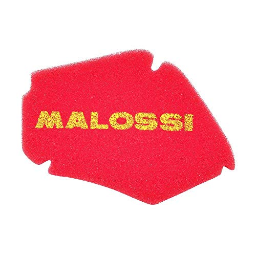 Motodak Largarse Malossi schuimstof-luchtfilter voor Piaggio 50 Liberty 4t 2009 Zip 4t 2000 Aprilia 50 Scarabeo 4t 2010 + rood