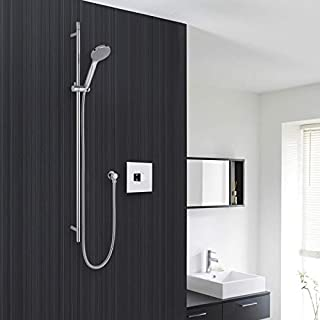 Hudson Reed Shower System with Sequential Valve and Chrome Multi-Function Handshower In Chrome Finish