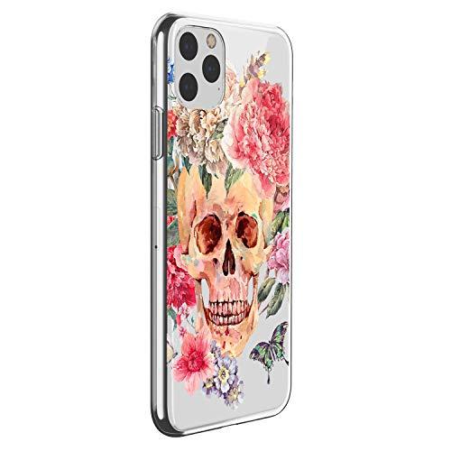 Oihxse Funda para iPhone 12 Pro MAX 6.7'' 2020 Carcasa Ultra-Delgado Ligera Silicona Suave TPU Gel Transparente Cover Bumper Cristal Protectora de Anti-Choque Anti-Arañazos-A7