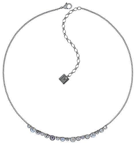 KONPLOTT Water Cascade necklace - white antique silver