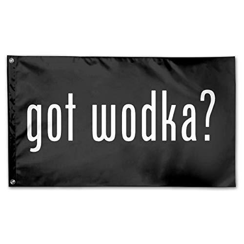 wallxxj Garten Flagge Polish Pride Got Wodka Home 150X90Cm Lebendiges Yard Banner Gartenfahne Im Freien Yard Flag Dekorativer Feiertag Willkommensdruck Klassischer Standard Langlebig