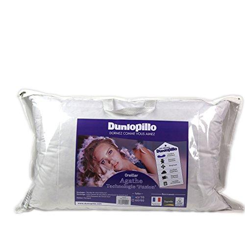 Dunlopillo ORFGDN045070DPO2 Fusion kussen, 45 x 70 cm, wit