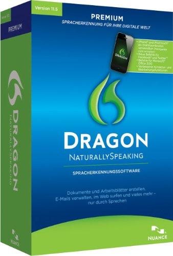 Nuance Dragon NaturallySpeaking Premium 11.5