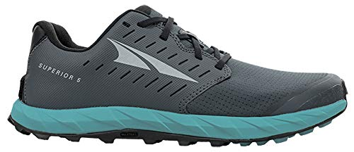 ALTRA Women's AL0A5483 Superior 5 Trail Running Shoe, Dark Slate - 6.5 M US