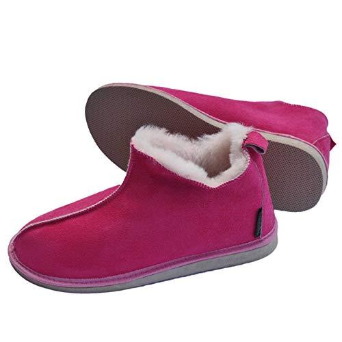Lammfell Hausschuhe Mokassin Cinderella pink Schuhgröße EUR 41