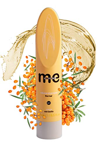 MeMademoiselle Volumen Shampoo Damen für feines Haar | Haarshampoo Damen für die perfekte Haarpflege | Shampoo ohne Silikon (250ml)