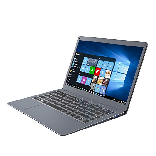 Jumper Laptop 13.3' Windows 10 Thin and Lightweight Laptop, Intel N3350 , 6GB RAM 64GB ROM, USB3.0, supports 128GB micro SD and 1TB M.2 SSD