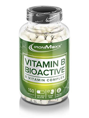 Ironmaxx Vitamin B Bioactive, 150 Kapseln, 1er Pack (1 x 120 g)