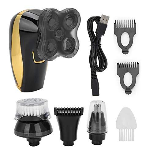 Maquinilla de afeitar recargable de doble uso, recortadora de pelo en la nariz, inteligente para hombres mojados Hombre seco