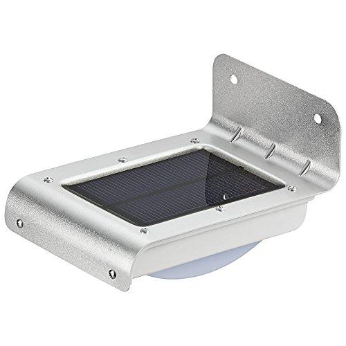 LED Solarleuchte kabellos 100 Lumen mit Bewegungsmelder und Stand by Funktion #1200