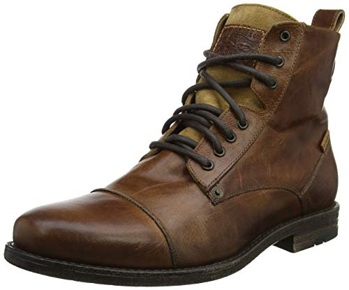 LEVIS FOOTWEAR AND ACCESSORIES Emerson, Botas Slouch para Hombre, Marrón (Medium Brown 27), 43 EU