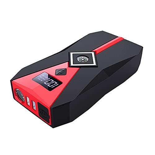LBYDXD 18800 mAh Arrancador de Coches, Cargador de Emergencia portátil Batería Banco de energía Dispositivo de Arranque de Refuerzo, con luz LED y Puerto USB