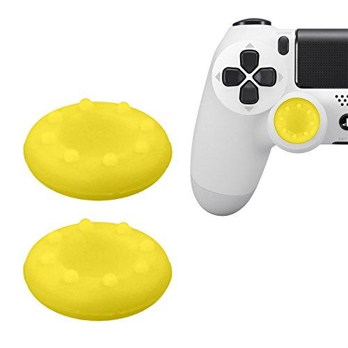 PhoneNatic Gommini Copri Stick analogici Giallo per Controller