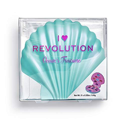 I Heart Revolution - Lidschattenpalette - Ocean s Treasure Eyeshadow Palette