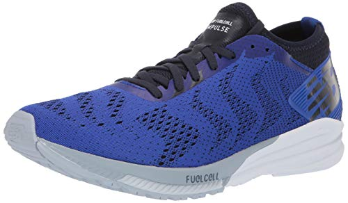 New Balance Herren Impulse V1 FuelCell, UV-Blau/Schwarz/Hell-Cyclone, 43 EU