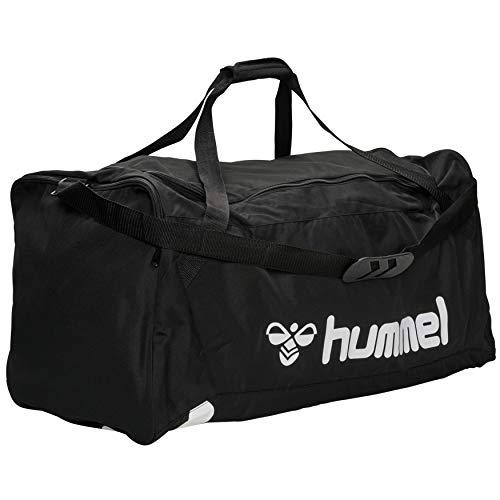 hummel Unisex CORE TEAM BAG Sporttasche, Schwarz, Einheitsgröße