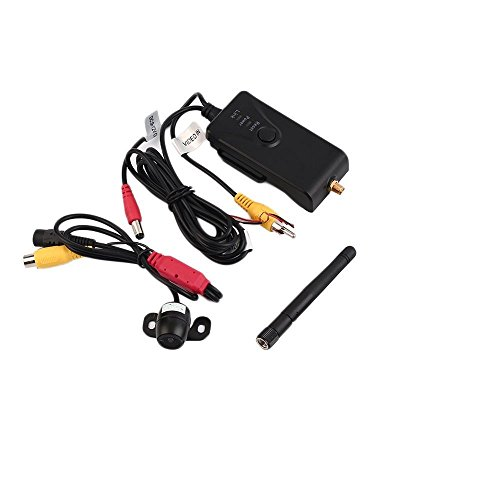 Auto Wifi Rückfahrkamera Wasserdicht Wireless Echtzeit Video Transmitter Receiver Rückspiegel Monitor 903W AV Schnittstelle 170 ° MINI Auto Kamera Für IPhone Android Ipad