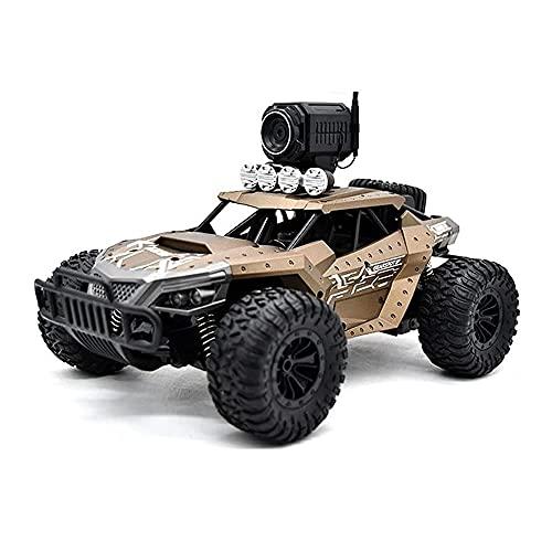 Lihgfw 2.4G Hochgeschwindigkeits-WI-FL-Echtzeitübertragung Von Geländefahrzeugen, Mit 480P HD-Kamera. Senden Sie VR-Brille, 4WD All-Terrain-Kletter-RC-Auto, 25KM/H, Kinder Und