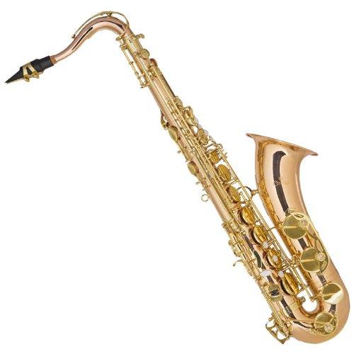 Cecilio TS-380 - Saxofón tenor, color dorado