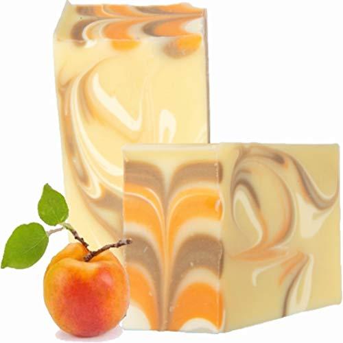 ANI® SAVON ELIXIER (Aprikosen-Honig) Naturseife, TWICE AS NICE 2 Stück je 100g handgefertigt Seife Frankreich I ARTISANAL NATUR INSPIRATION