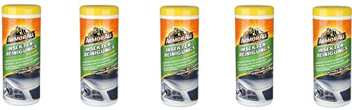 5 x ArmorAll 36115L Insekten-Reinigungstücher 30 Stk. auch Klarlack geignet KFZ