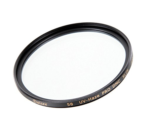 Khalia-Foto Daisee DMC UV Filter 58mm UV Haze Pro Slim, 8-Fach vergütet