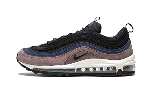 Nike Air MAX 97 Premium, Zapatillas de Gimnasia Hombre, Morado (Smokey Mauve/Black/Midnight Navy/Sail 204), 40.5 EU