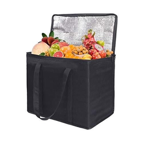 Soft Cool Bag, Cooler Bag Box, 30L Thermal Food Delivery Bag, Large...