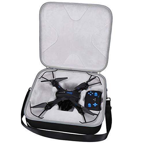 Aproca Duro Viaggio Custodia per SNAPTAIN S5C WiFi FPV 720p HD Camera Best Drone (Black) (Black-Promotion)