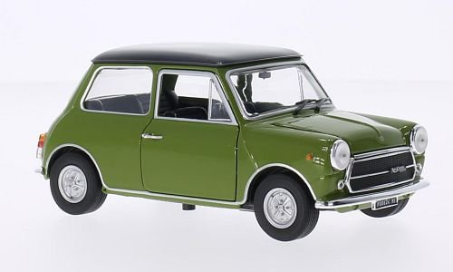 Innocenti Mini Cooper MK3 1300, grün/schwarz, 1972, Modellauto, Fertigmodell, SpecialC.-19 1:24