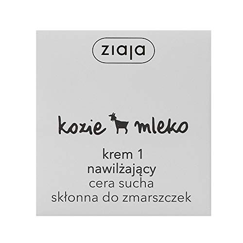 Ziaja Ziegenmilch Feuchtigkeitscreme 1 /// Kozie Mleko Krem 1 nawilzajacy cera sucha sklonna do zmarszczek 50ml