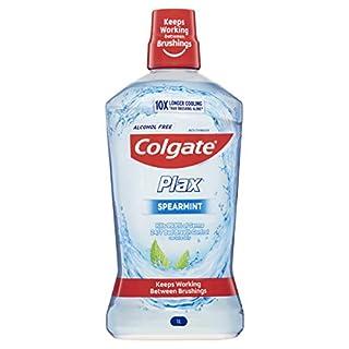 Colgate Plax Antibacterial Mouthwash 1L, Alcohol Free, Spearmint, Bad Breath Control (B079GRFHTQ) | Amazon price tracker / tracking, Amazon price history charts, Amazon price watches, Amazon price drop alerts