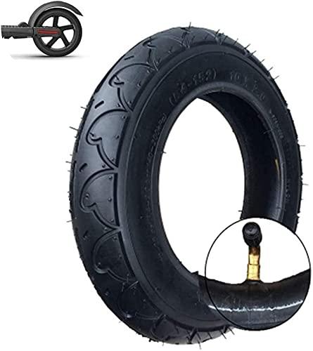 HAOJON Neumáticos para patinetes eléctricos, neumáticos Interiores y Exteriores inflables 10x2.0, neumáticos...