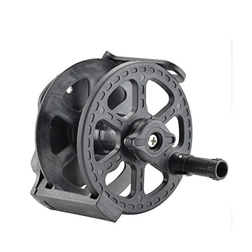 Carrete de pesca en el mar Carrete de fusil de pesca submarina Cuerda de pesca submarina dividida Capacidad de rueda de fusil de pesca 70M Línea de pesca para pesca Carrete de pesca ultraligero
